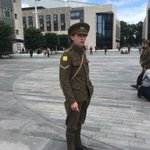 Genuinely moved and wiping away tears at seeing the soldiers in Guildhall Square, Southampton. #wearehere https://t.co/wJchuQSTFQ