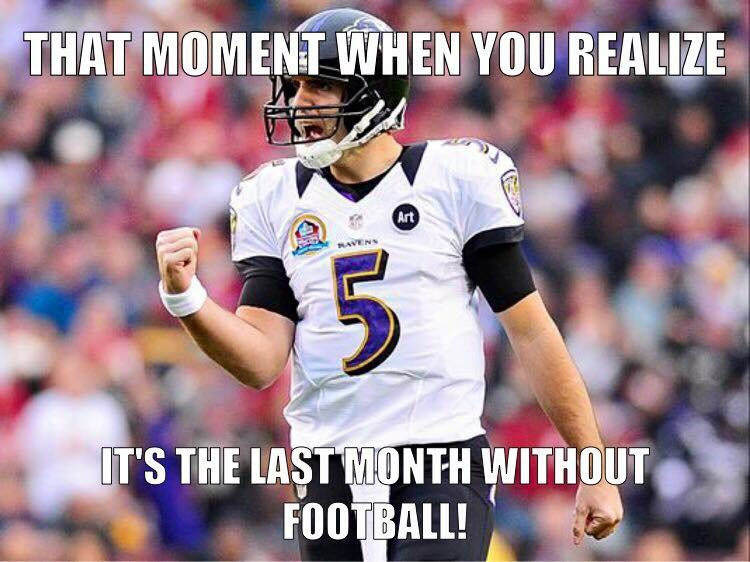 Hello July. Happy Purple Friday and don't forget, #PlayLikeARaven @Ravens https://t.co/2FWaGC4WFF