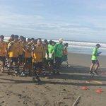 #Pretemporada La jornada de este día inicia nuevamente en la Playa El Cuco #SomosÁguila https://t.co/MGVnU1Ha7h