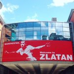 Manchester, Welcome to Zlatan board now being shown at the Arndale. #MUFC https://t.co/KPOIWkIH3I