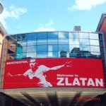 Billboard reading Manchester, welcome to Zlatan has been put up at the Arndale - right above the City store. https://t.co/dROLg1HRYN