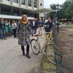 Plek voor 100 extra fietsen op Lucas Bolwerk! Opening Puls door @lotvanhooijdonk. Filmpje: https://t.co/AuOLJyvMwV https://t.co/N1bHLWMYoZ