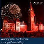 CIJA joins Canadians from all walks of life in celebrating our great country https://t.co/DkFXO0NHTo #HappyCanadaDay https://t.co/KFkVjJ095R