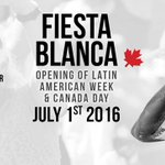 #LatAm Week is starting today in #Vancouver with Fiesta Blanca! @VancityBuzz #Shinetogether https://t.co/NrLXAz9szB https://t.co/gjQdlEcph1