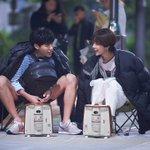 รยูจุนยอล - ฮวังจองอึม ในเบื้องหลังการถ่ายทำละคร #LuckyRomance ช่อง MBC???? https://t.co/ZdjqX3xTK7