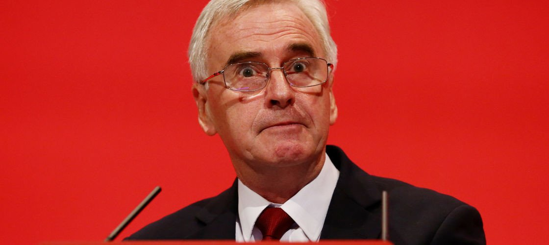 John McDonnell assures EU migrants in UK: Labour will never send you anywhere: https://t.co/htlk3KK1jr https://t.co/HN4Hphmb5r