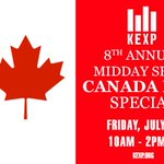 Coming up at 10AM PT, its @djcherylwaters 8th Annual #CanadaDay show! Who are some of your fave Canadian artists? https://t.co/lL0lFUm9EU