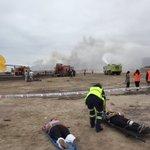 Unidades del CBI trabajan en simulacro en Aeropuerto. #iquique https://t.co/arUz98C57q