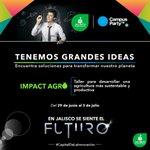 Porque en Jalisco necesitamos nuevas tecnologías para un mejor futuro.@campuspartymx JALISCO #CapitalDeLaInnovacion https://t.co/fjPG9cxwvK
