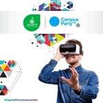 Ya iniciamos Campus Party 2016 #CPMX7 Tenemos grandes ideas, visitanos y participa!!! #CapitalDeLaInnovación https://t.co/KE7RqrYrrq