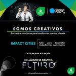 En #Jalisco se siente el futuro, tenemos el talento, somos #CapitalDeLaInnovación #CPMX7 https://t.co/tyFWRiKqhq