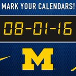 The countdown is on... Will you be joining us on 08.01.16?  Visit https://t.co/5NbAs8ST4n for more details! #GoBlue https://t.co/Di8Uooco8B