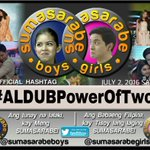 """""""Life is easier when 2 ❤️s & minds are committed working together. """" SPREAD our OHT ???? #ALDUBPowerOfTwo ???? https://t.co/GvymQ4uiIl"""