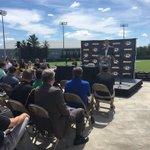 What a wonderful day to welcome our new @MizzouBaseball Coach Steve Bieser! #MIZ https://t.co/Y7599mGHob