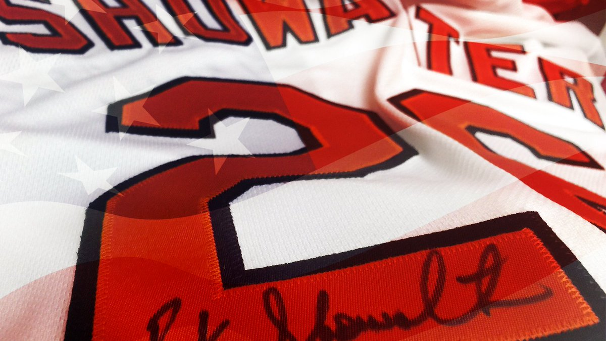 Happy Fourth of July! RETWEET for a chance to win a signed Buck Showalter jersey! #IBackTheBirds