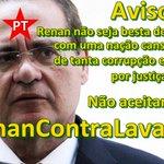 Twitaço às 18h! @SenadoFederal Eu Ñ aceito projeto que pode dificultar a operação Lava-jato #RenanContraLavaJato https://t.co/weNNmD3pIH