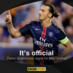 Breaking: Manchester United confirm Zlatan Ibrahimovic has joined the club https://t.co/oviEYOB8b1 https://t.co/8yZN8UjD0h