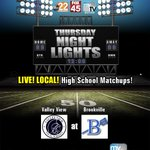 Week 9 may decide the SWBL its Valley View at Brookville on #ThursdayNightLights https://t.co/6usDeaF5qb