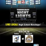 Week 8 is another rivalry game: Dunbar at Thurgood Marshall at Welcome Stadium #ThursdayNightLights https://t.co/MQcN3Xdy0Q