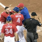 VIDEO: Blue Jays Russell Martin goes BERSERK after getting tossed by Vic Carapazza. https://t.co/qFsUIUJ5PZ https://t.co/CPDIGSkxOv