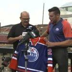 #GottaSeeIt: Milan Lucic puts on an @EdmontonOilers jersey for the first time. https://t.co/T0ACfQwV5f https://t.co/bIkztxQkz8