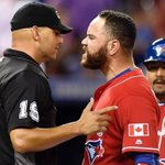 Home plate umpire Vic Carapazza is not earning many friends at the #CanadaDay @BlueJays ga… https://t.co/lw5a2EPEt0 https://t.co/lCQskmHSPz