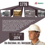 #SabíasQue Desde 1974, se celebra en esta fecha en México, el Día Nacional del Ingeniero. #DiadelIngeniero https://t.co/KhEmRE3zPs