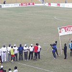 Its now the turn of the winners and the champions, Kotoko to take their medals. https://t.co/sf6sXa9vxF