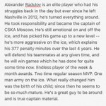 Context on #Habs Alexander Radulovs character and maturity since leaving Nashville in 2012. Credit to @A_Kalnins. https://t.co/fSWb7vNVsr
