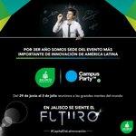 ¡Que la Innovación sea un hecho natural en Jalisco! @Campuspartymx ven y participa #CapitalDeLaInnovación #CPMX7 https://t.co/Q2M7Ga1y1v