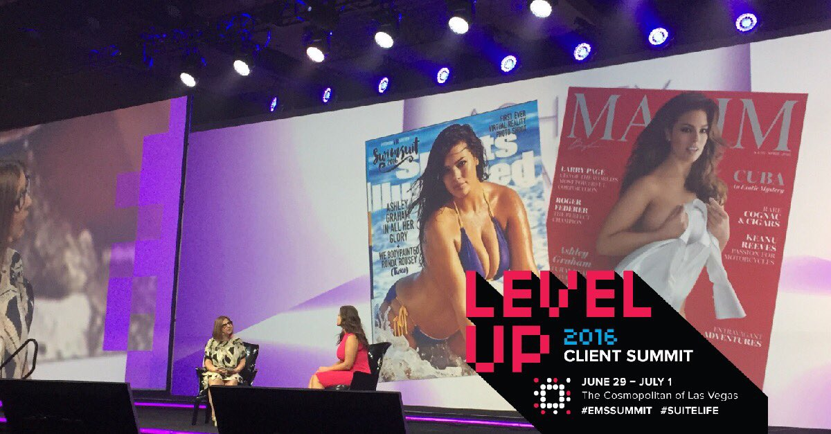 #Model @theashleygraham discusses shift to embrace body diversity! #Livestreaming https://t.co/Id2AOnMGqB #EMSSUMMIT https://t.co/5PrriJrBQi