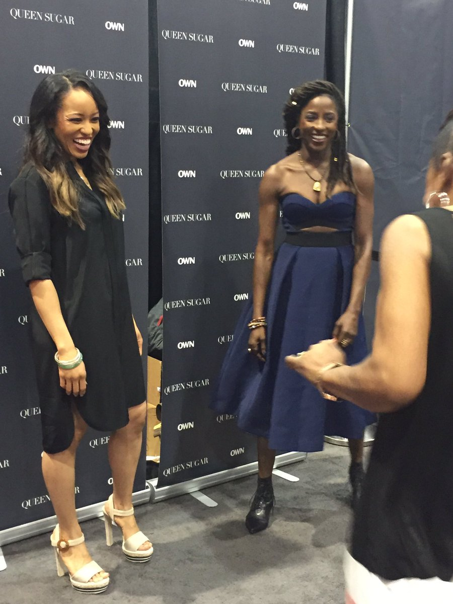 @rutinaofficial @dawnlyen SUCH talented stars #QueenSugar on #owntv this fall.captivating crowds @essencefest. BEST! https://t.co/ITya6maPjH
