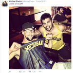.@ASUSwimDive Hm. @MichaelPhelps looks awfully comfortable right here... #GoBlue https://t.co/00VL5xqRRG