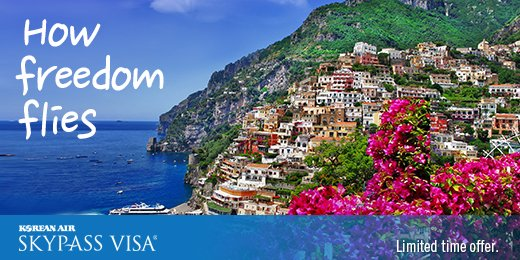 Enjoy a special intro annual fee, 2 KAL Lounge coupons and up to 15,000 bonus miles.