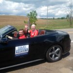 Troy Canada Day parade - known as the best little parade in Canada! @DavidSweetMP #FlamGlan https://t.co/q4iZBiD80I