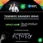 En Jalisco tenemos Grandes Ideas, #Jalisco es #CapitalDeLaInnovación #CPMX7 #WorkShopJalisco en @Campuspartymx https://t.co/2BzpgPhMpW