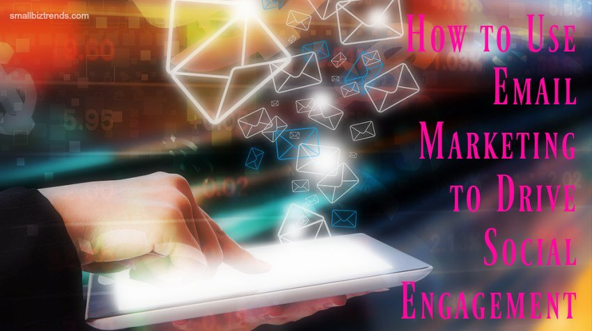 Email marketing can be used as a facilitator of great social media engagement. Here's how: https://t.co/Bhw7wx60Lo https://t.co/auTPcqBaYH