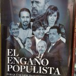 Novedades-Julio 2016: #ElEngañoPopulista de @crazyglorita y @AXELKAISER en @goldenbookcl #Iquique: https://t.co/GzfalLEr6h
