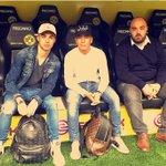 Nice to visiting my new club!  Yeni kulübümü görmek güzel oldu. ⚽️✌🏻️ #EM9 #Dortmund #Signalidunapark #NewHome https://t.co/xPHYB2e9fA