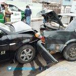 1 persona lesionada en colisión de colectivo con auto particular, Zegers con Genaro Gallo SAMU en el lugar #Iquique https://t.co/ONSzzjHWKP
