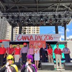 Proud to recite The Great Canadian Oath with thousands of Mississaugans. #CanadaDay2016 https://t.co/NpbVKiZLUG