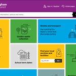 A peak at the new Birmingham City Council website #Birmingham https://t.co/Ru30NTJphD