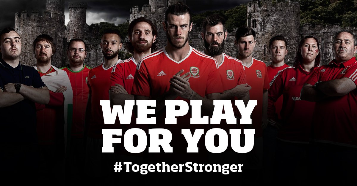 THE MOST FAMOUS NIGHT IN WELSH FOOTBALL HISTORY #WAL 3-1 #BEL WE ARE INTO THE SEMI-FINALS!!!! #TOGETHERSTRONGER https://t.co/i1SxPPWu9t