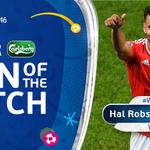 #WAL forward Hal Robson-Kanu is the @carlsberg Man of the Match ???? #EURO2016 https://t.co/yTnjR3qYBi