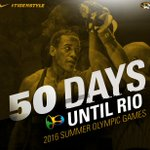 50 days away from @SuperstarW14T wrestling at #Rio2016!!! #MIZ 🇺🇸 https://t.co/CXrqRhVYgz