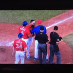 Fireworks of a different kind - Good for Russell Martin this ump Vic Carapazza disgraceful #MLB #Jays @BlueJays https://t.co/PdsXN3OYqW