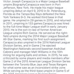 Now I know why Vic Carapazza is calling strikes...BOO! @MLB should do something about him! @SNBarryDavis @BlueJays https://t.co/6gn14PxmvM