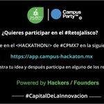¡Participa en el Hackatón más grande del mundo! Entra a https://t.co/8FPbGlygpY y registra tu idea. #CPMX7 https://t.co/7YrzirQ0wz