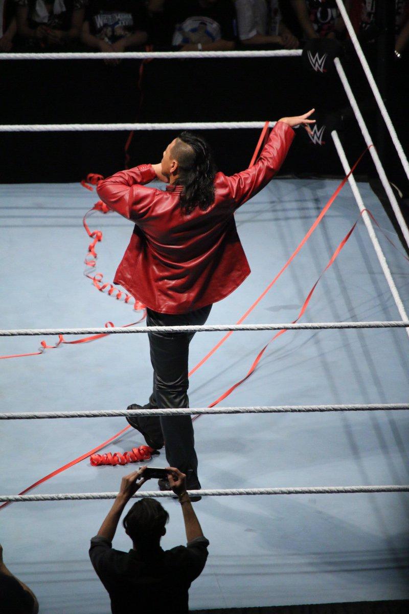 2016.07.01 WWE RYOGOKU SHINSUKE NAKAMURA ④ #WWETokyo https://t.co/1T1mNLolUP