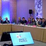 #MichelleBachelet, @EPN, @JuanManSantos y @Ollanta_HumalaT se reunieron con el Consejo Empresarial de @A_delPacifico https://t.co/khuxJxK81s